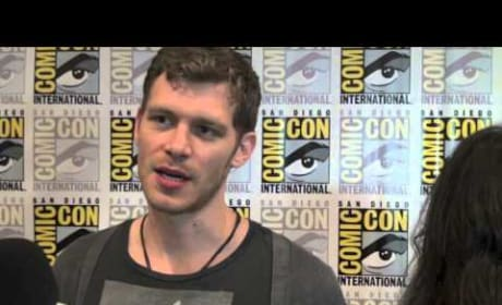 Joseph Morgan Comic-Con Interview
