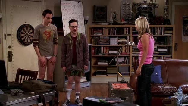 """Pilot"" - The Big Bang Theory - 9/24/2007"