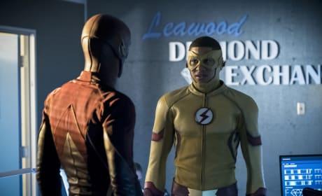 Flash and Kid Flash
