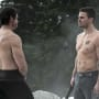 Shirtless x 2 - Arrow Season 3 Episode 9