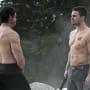 Shirtless x 2 - Arrow Season 3 Episode 9