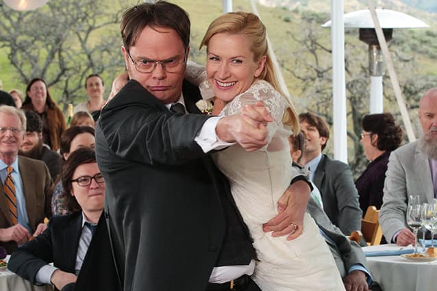 Dwight and Angela, The Office