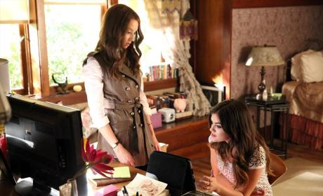 Getting Down to Business - Pretty Little Liars Season 5 Episode 10