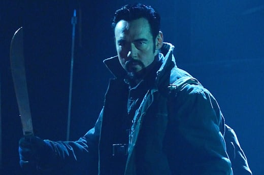 Vasily Fet Ready for Action - The Strain Season 1 Episode 13