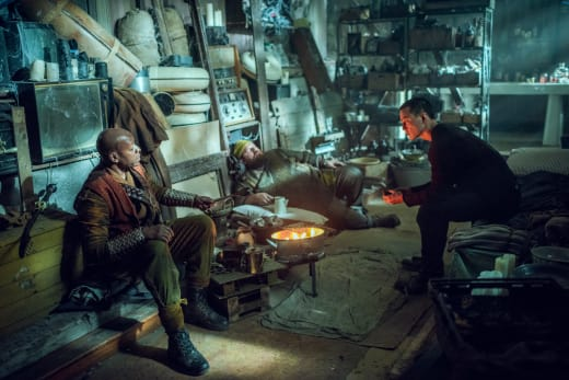 Sunny and Bajie Meet Silver Moon - Into the Badlands Season 2 Episode 3