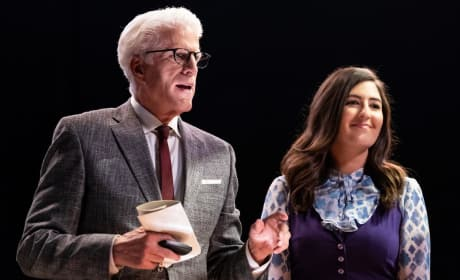 Janet and Michael - The Good Place Season 3 Episode 1