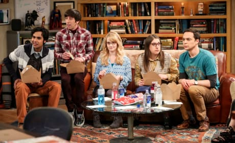 Watching The Competitors - The Big Bang Theory