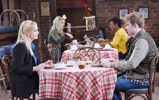 Belle Tells Will The Truth - Days of Our Lives