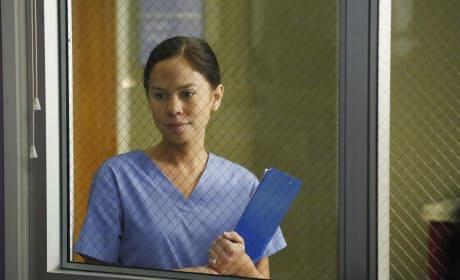 Kim Hidalgo as Wendy - Grey's Anatomy Season 11 Episode 11