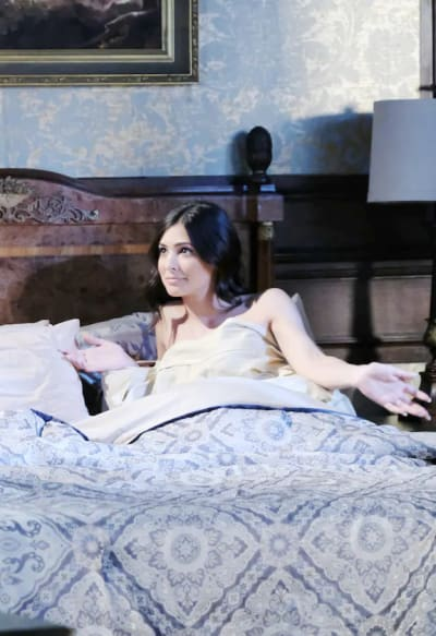 Gabi In Bed - Days of Our Lives