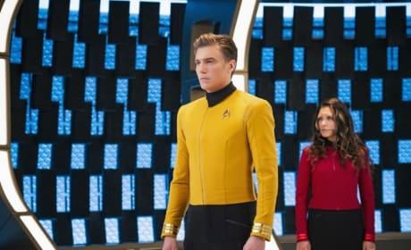 Captain Pike - Star Trek: Discovery Season 2 Episode 1
