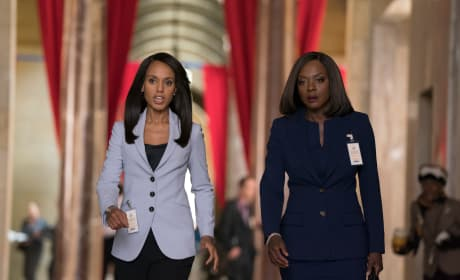 Scandal & How to Get Away with Murder Crossover: All the Pictures!