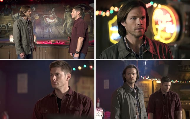 Sam and dean supernatural season 10 episode 23