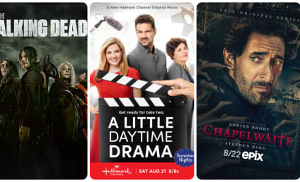 What to Watch: The Walking Dead, A Little Daytime Drama, Chapelwaite