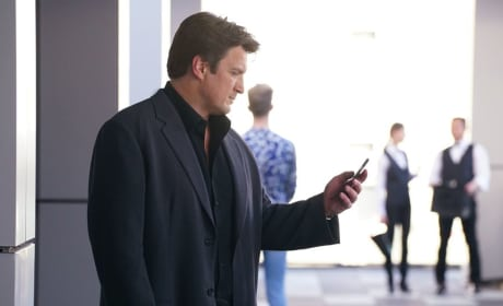 Rick Gets a Call - Castle Season 8 Episode 9