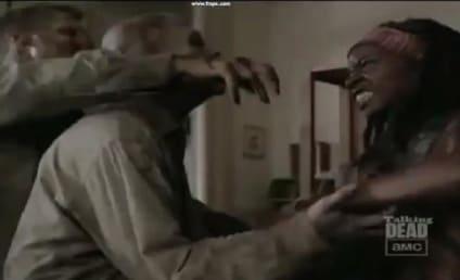 The Walking Dead Sneak Peek: Michonne in Action!