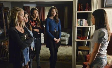 Confronting Mona - Pretty Little Liars Season 5 Episode 12