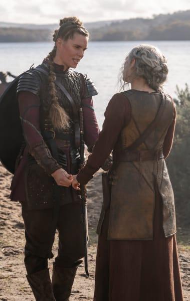 Gunnhild Meets Lagertha - Vikings Season 6 Episode 5