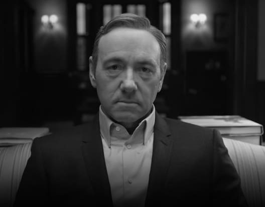 Frank Underwood on House of Cards