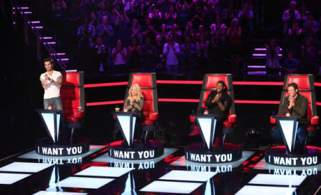 The Voice Season 4 Judges