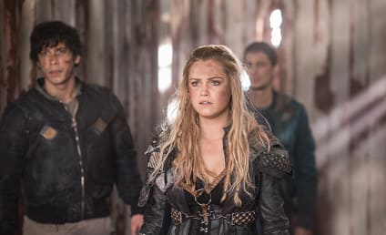The 100 Photo Preview: Polis Falls To ALIE!