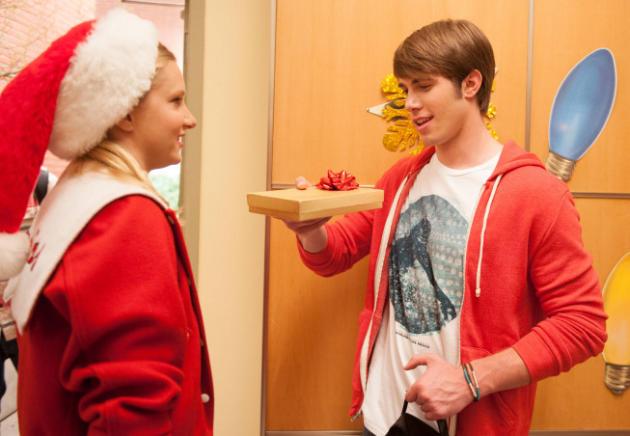 Brittany as Santa