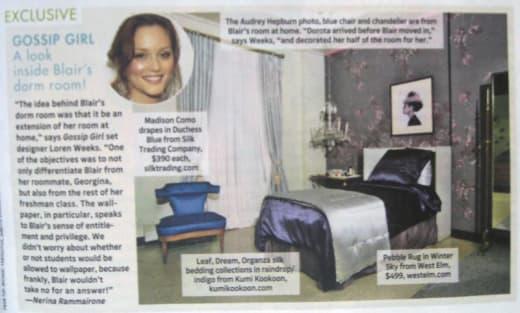 Blair's Dorm Room
