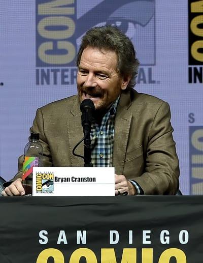 Bryan Cranston at Comic-Con