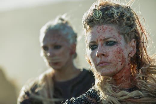 Bloody Lagertha - Vikings Season 5 Episode 8
