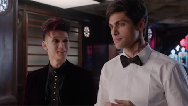 Magnus and Alec - Shadowhunters