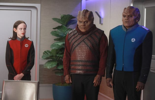 Making a Request - The Orville Season 2 Episode 2