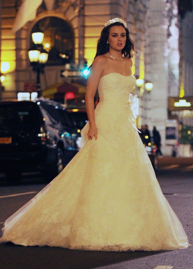 Blair Waldorf Wedding Dress Tv Fanatic