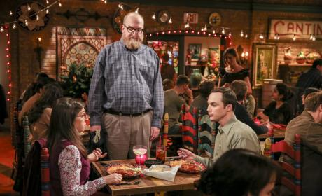 Dinner Interruption - The Big Bang Theory Season 10 Episode 16