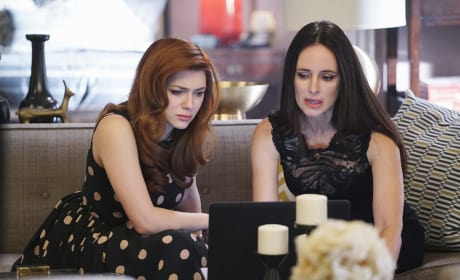 Victoria and Louise - Revenge Season 4 Episode 19
