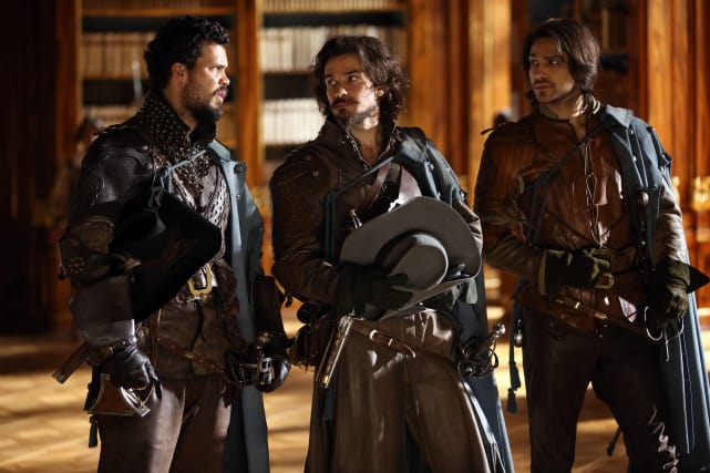 """""""It's a pleasant surprise to hear he had one at all."""" The Musketeers"""