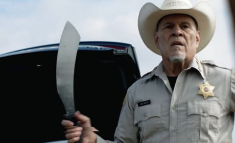 Sheriff Jed Mayo - Queen of the South Season 3 Episode 4