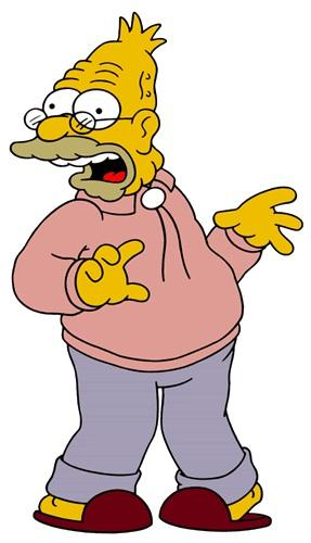 Grandpa Simpson Picture