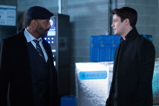 Joe and Barry - The Flash Season 7 Episode 7