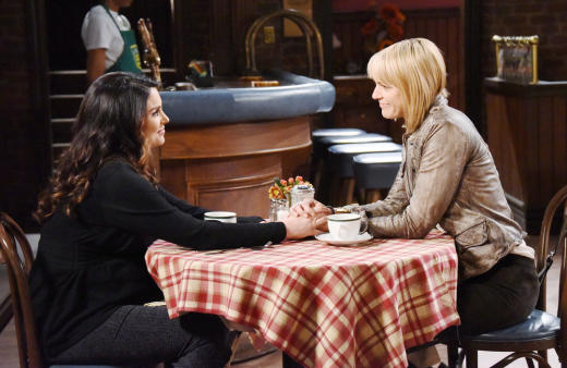 Chloe Shuts Out Nicole - Days of Our Lives