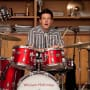 Finn on the Drums