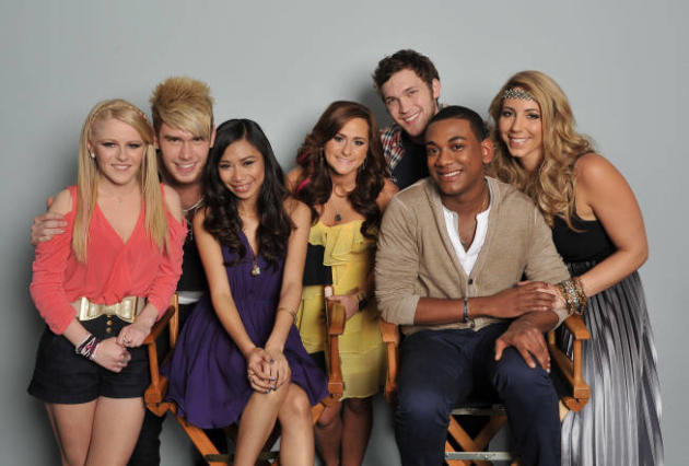 American Idol Top 7 Photo