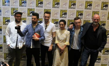 Preacher: Seth Rogen and Cast Talk Relationships, Hitler and Pissing in Pits