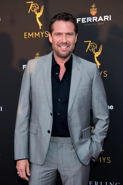 Alexis Denisof Attends Event