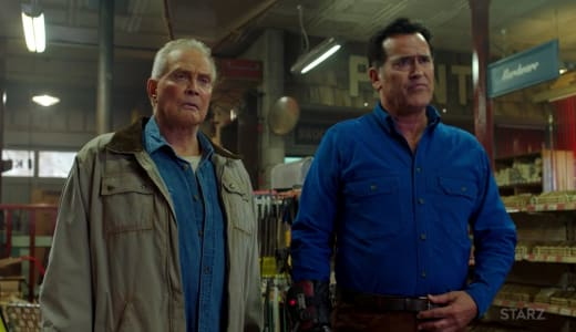 Back Together Again - Ash vs Evil Dead Season 3 Episode 4