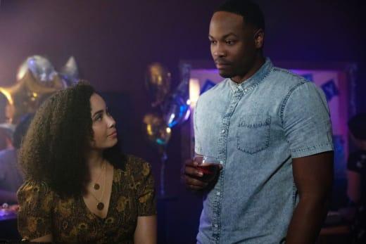 Macy and Galvin Awkward - Charmed (2018) Season 1 Episode 6