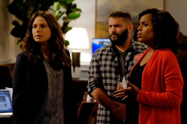 We Need a Bottle of Red! - Scandal Season 6 Episode 1