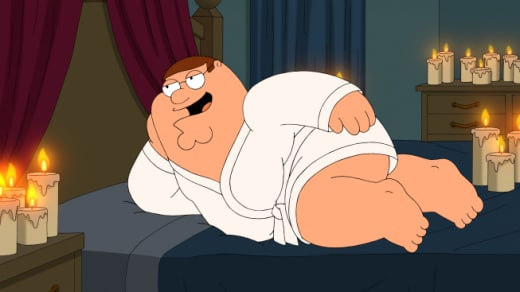 Peter's Day In Bed