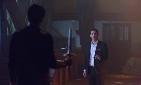 Talking Not Fighting - Lucifer Season 2 Episode 5