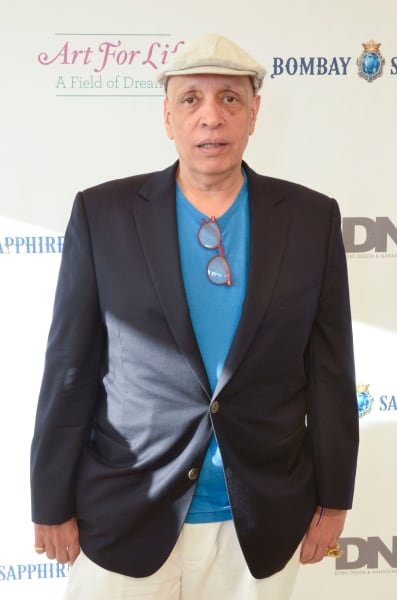 Walter Mosley Attends Art For Life Benefit