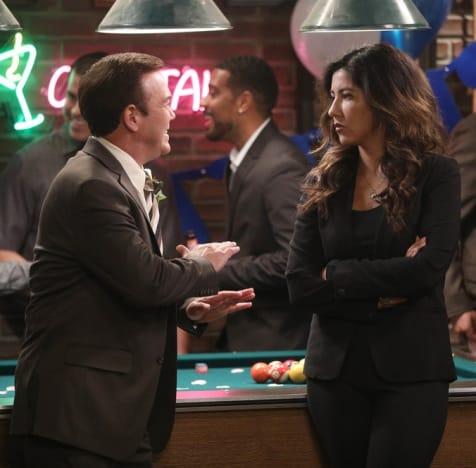 Charles and Rosa Arguing - Brooklyn Nine-Nine Season 7 Episode 6